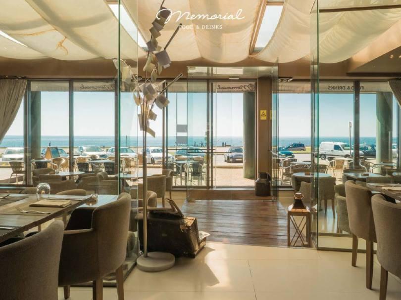 Salle avec vue sur la mer - Restaurant Memorial - Leca da Palmeira - Porto