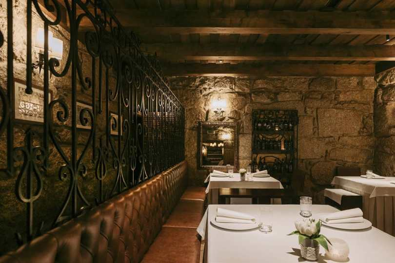 Salle du restaurant O Paparico - Porto