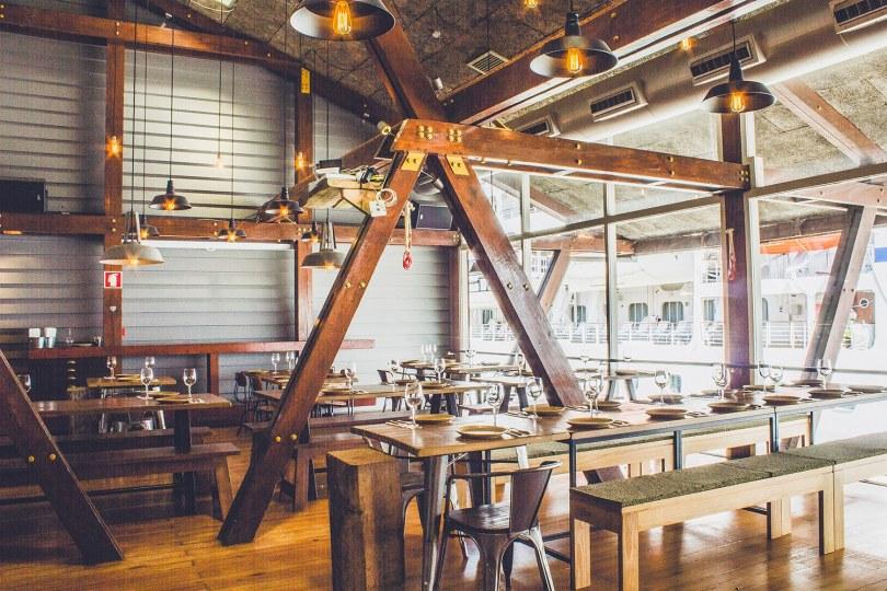 Salle du restaurant Terminal 4450 - Leca da Palmeira