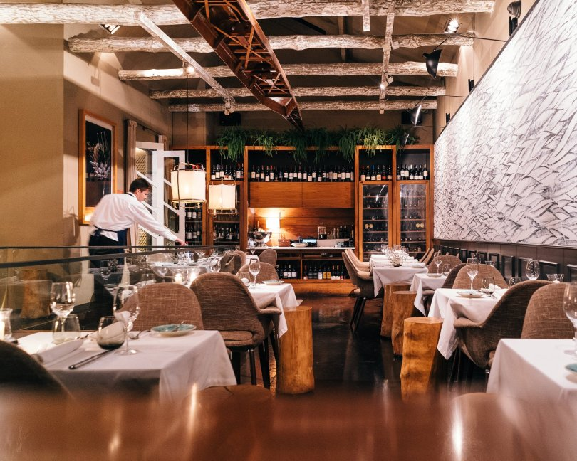 Salle du restaurant Terra - Porto
