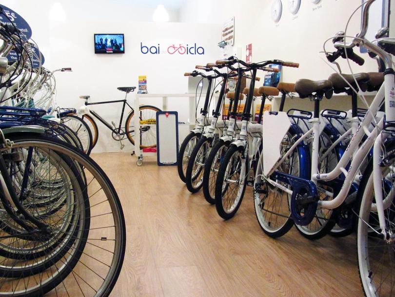 Velos de location de la boutique Bai de Bicla - Porto