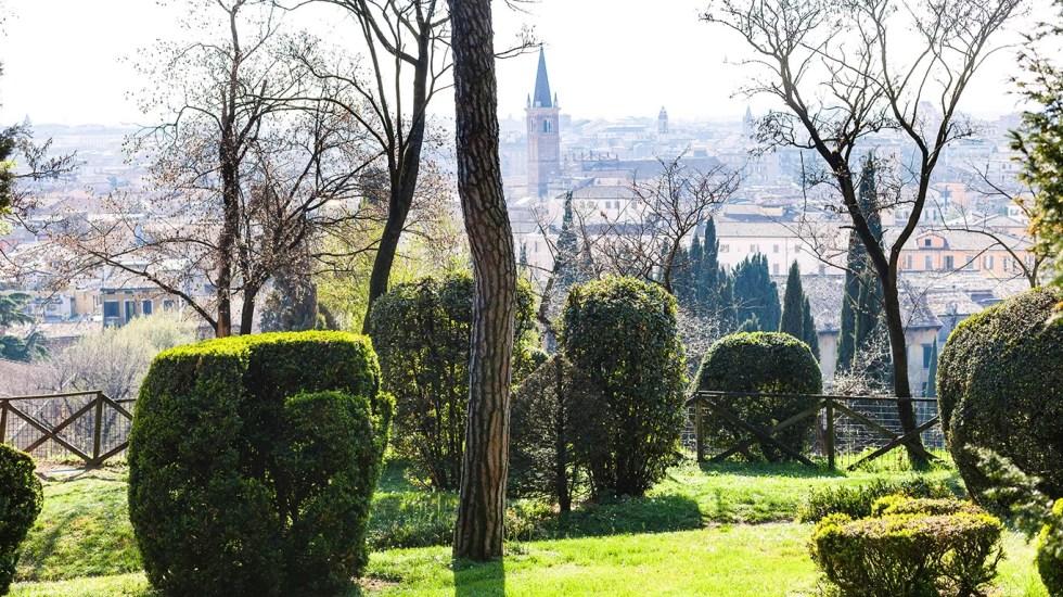 jardin giusti verone italie