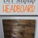 How To Make A Shiplap Headboard Weekend Craft