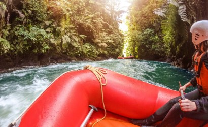 Kaituna river Rafting In Rotorua New Zealand