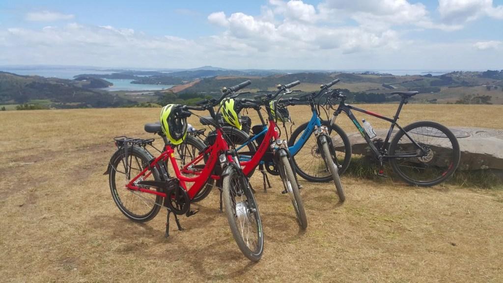 Bikes of Adventure Capital Waiheke e-bike tour self-guided