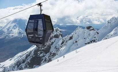 sky waka gondola mt ruapehu and whakapapa ski field in background