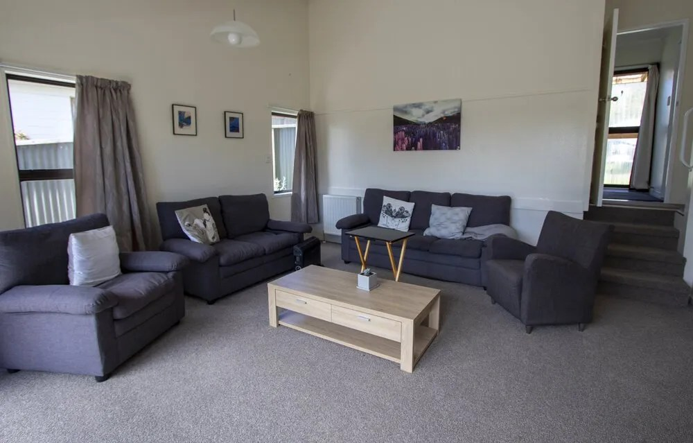 sista trio taupo womens only retreat living room picture