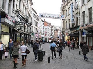 Shoppen in Brussel