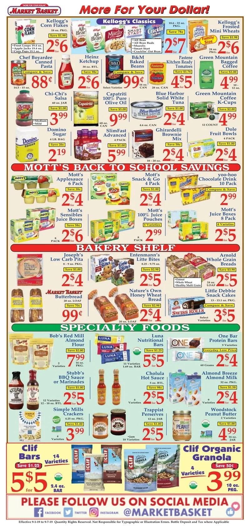 Fresh Market Sales Flyer