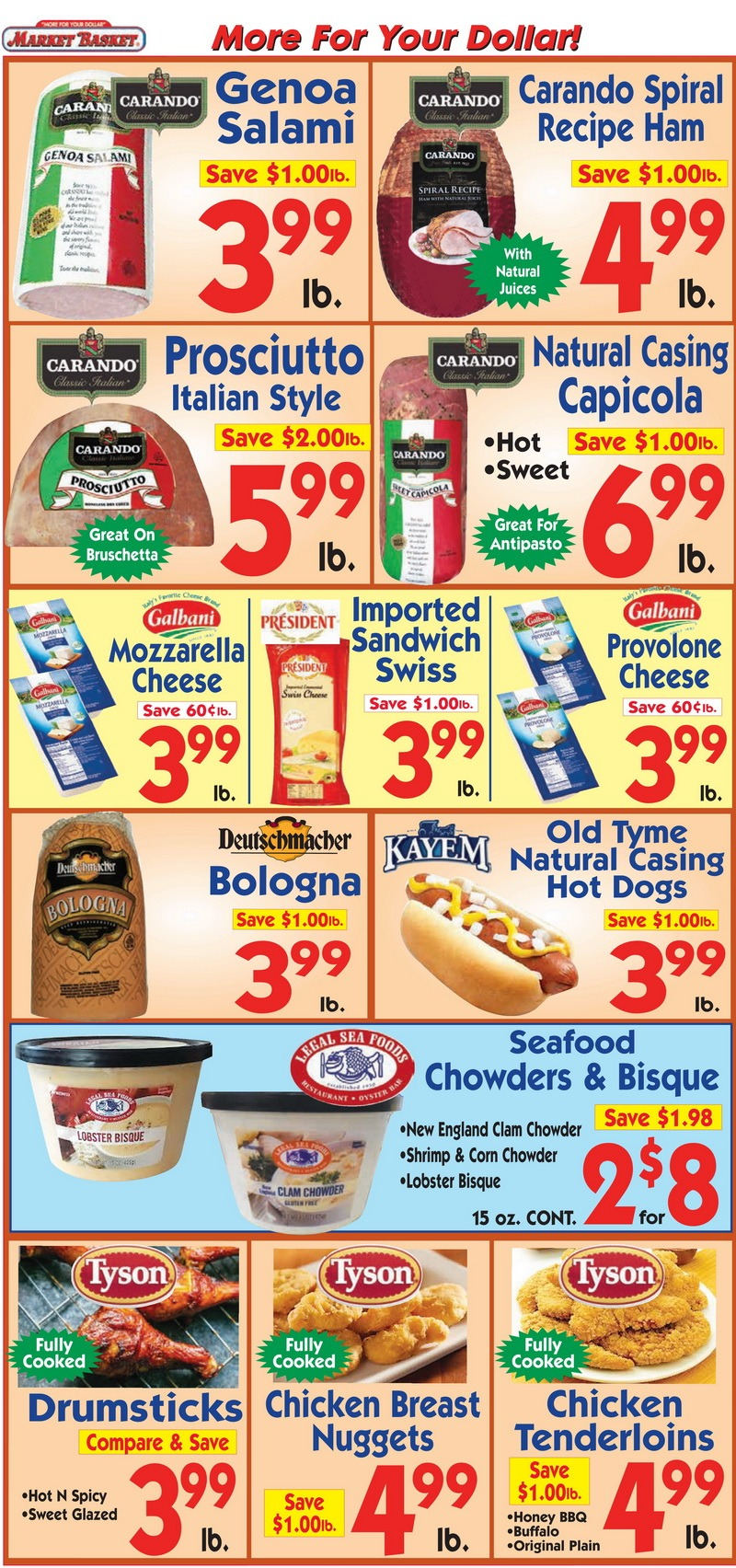Fresh Grocer Seafood Sale