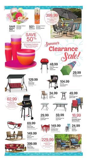 kroger outdoor furniture summer sale