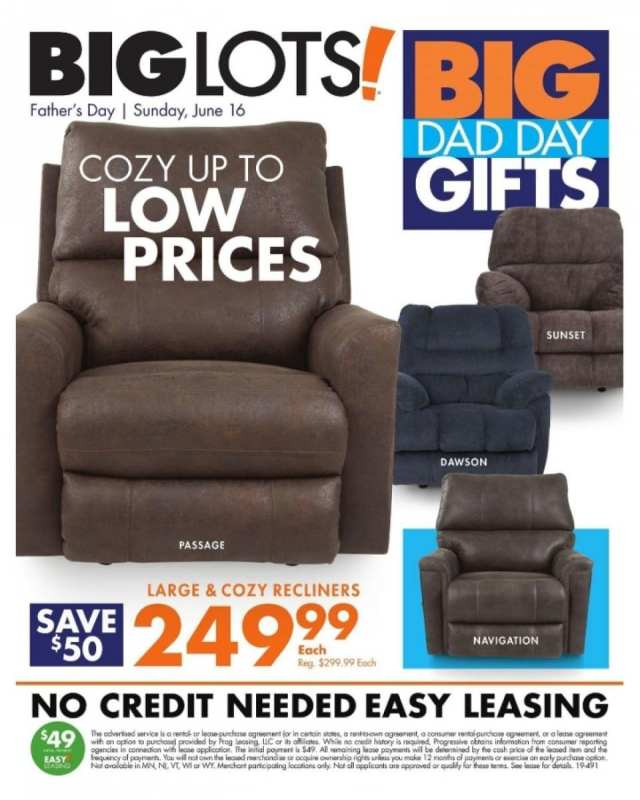 Big Lots Weekly Ad Fathers Day Furniture Gifts Jun 8 15 2019
