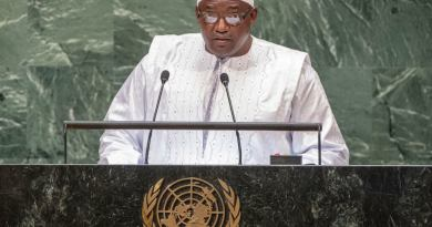 No country can solve its challenges 'in isolation,' Gambia President tells UN Assembly