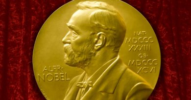 Who is getting Nobel Peace Prize this year?