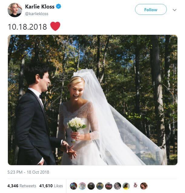 Jared Kushner's Brother Marries Supermodel Karlie Kloss