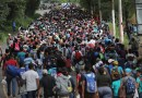The caravan from Mexico is the test of American immigration policy