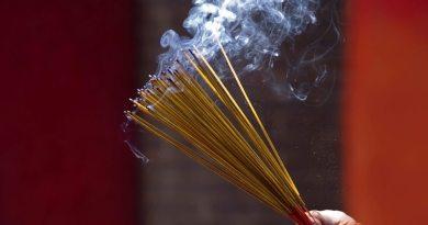 Incense stick smoke may cause health hazard