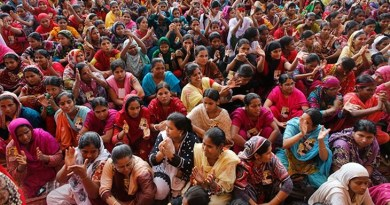 Plot of unrest in the RMG sector in Bangladesh