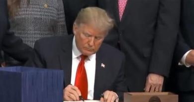 President Trump signed Elie Wiesel Genocide Act into law