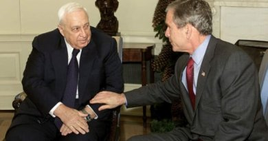 Sharon-Bush letters and peace with Palestinians