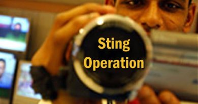 Sting operation can greatly help combating corruption and drugs