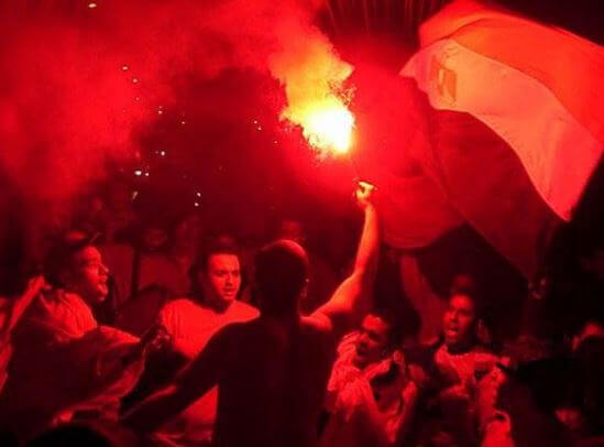 Middle East soccer fans important role in 2011 popular revolts