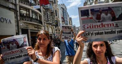 Erodogan's Turkey Crackdown Chronicle
