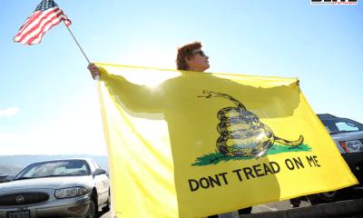 President Donald Trump, Gadsden flag, American Revolution, Major Soccer League, Native American
