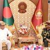 President M Abdul Hamid, Bangladesh Army, Chief of Army Staff, General SM Shafiuddin Ahmed, General Aziz Ahmed, Prime Minister Sheikh Hasina