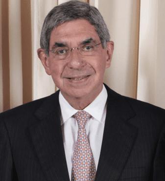 Original bad ass, Oscar Arias, former president of Costa Rica and Nobel Peace prize winner.