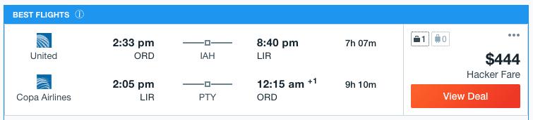 Flights to Liberia