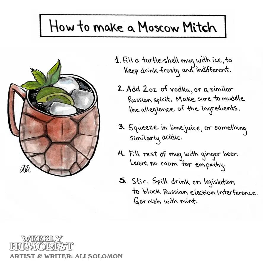 CARTOON: Moscow Mitch   Weekly Humorist