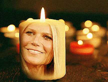 I am Gwyneth Paltrow's Exploding Vagina Candle, and I Have Orgasmed My Way to Freedom