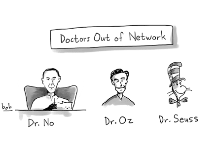 CARTOON: Doctors Out of Network