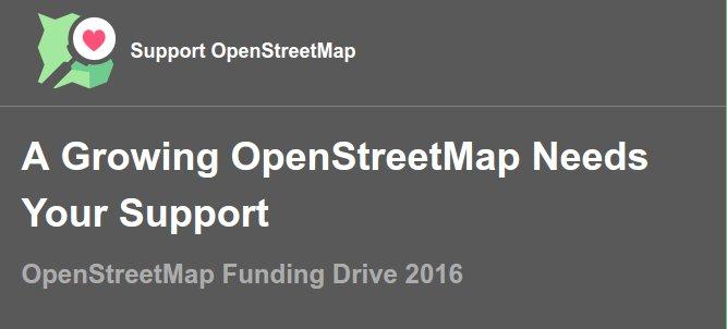 Banner OSMF-Spendenkampagne 2016
