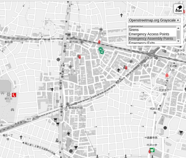 Überarbeitete Emergency-Map