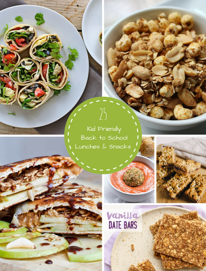 25 Kid Friendly Back to School Vegan Lunches