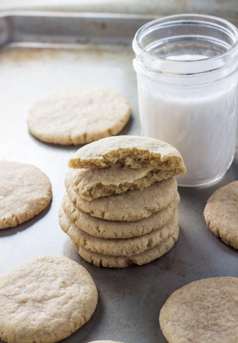 Easy Vegan Coconut Oil Sugar Cookies