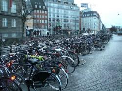 Parking à vélo à Copenhague