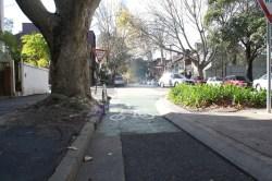 Piste cyclable à Sydney