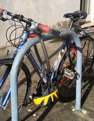 Vélo Antivolé Dans Les Rues De Sydney