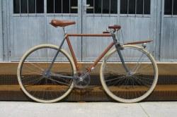 Vélo porteur fixie des Ateliers d'Embellie