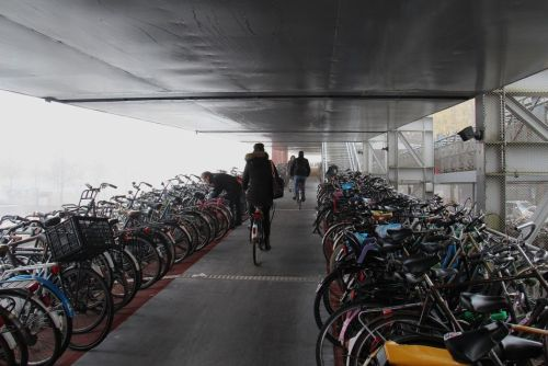 Amsterdam Trop Plein Vélos 03