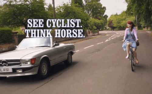 Nice Way Code Cyclist Horse 05