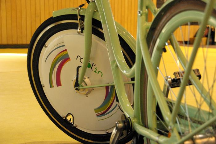 La roue électrique, future révolution pour le vélo urbain ?