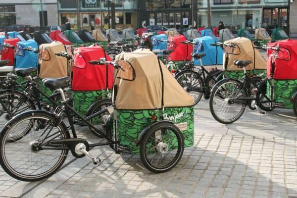 100 triporteurs, ou comment faire de Boulogne la capitale du triporteur