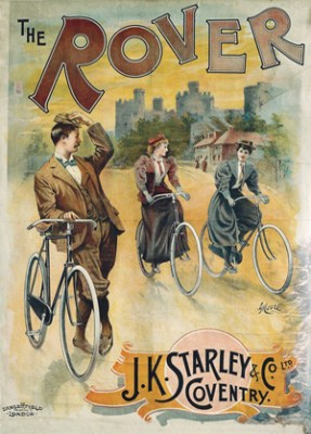 Rover J. K. Starley, Advertising Poster For Bicycles