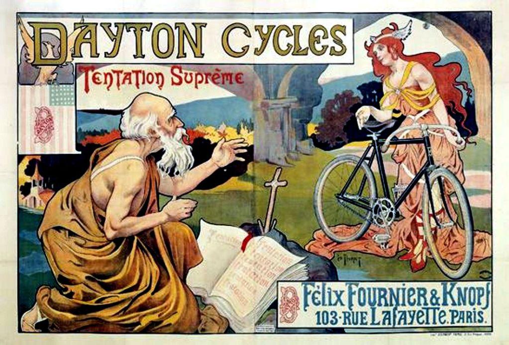 Artcurial, une vente aux enchères de 300 affiches publicitaires vintage vélo