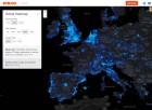 Strava-Heatmap-Europe