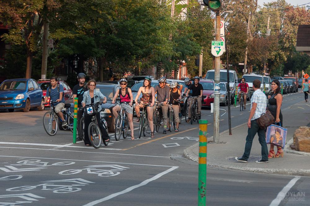 Montréal, haro sur les cyclistes !